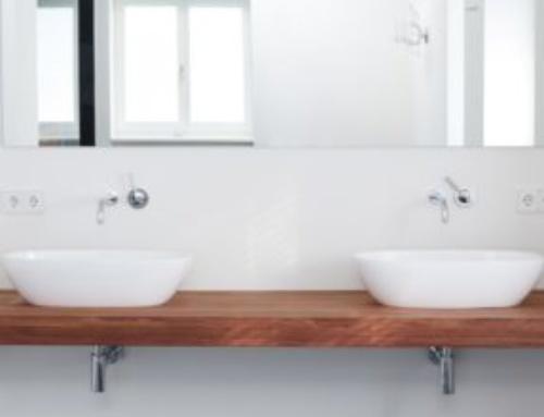 Badezimmer Ausbau Waschtisch