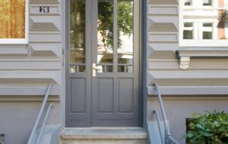 Hauseingangstür Denkmalschutz nach vorhandenem Vorbild