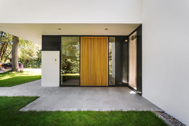 Hauseingangstür Eiche Neubau RC 2