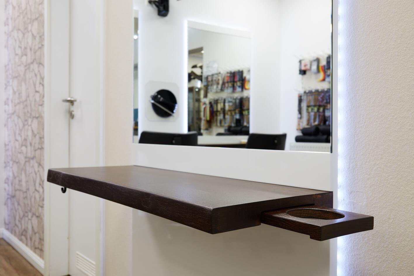 Möbel Spiegel Frisierständer Friseur