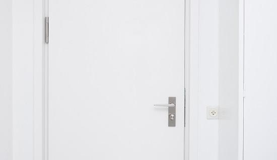 Brandschutztür mit integriertem Türschließer ITS Panikfunktion