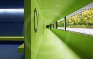 Türen für eine Turnhalle - Dreifeldsporthalle